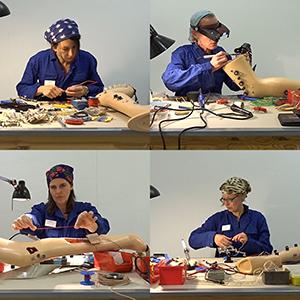 The maker 4 women, 12 legs
