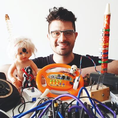 The maker Laureano Cantarutti