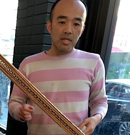 The maker Taro Hattori