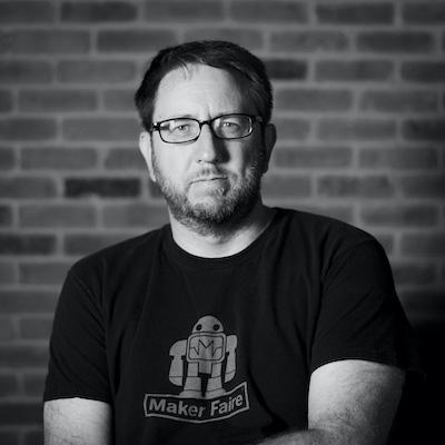 The maker Pete Prodoehl