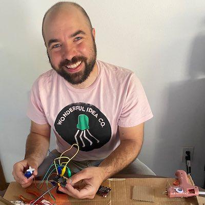 The maker Ryan Jenkins