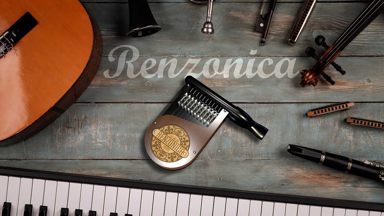 A musical instrument anyone can play.