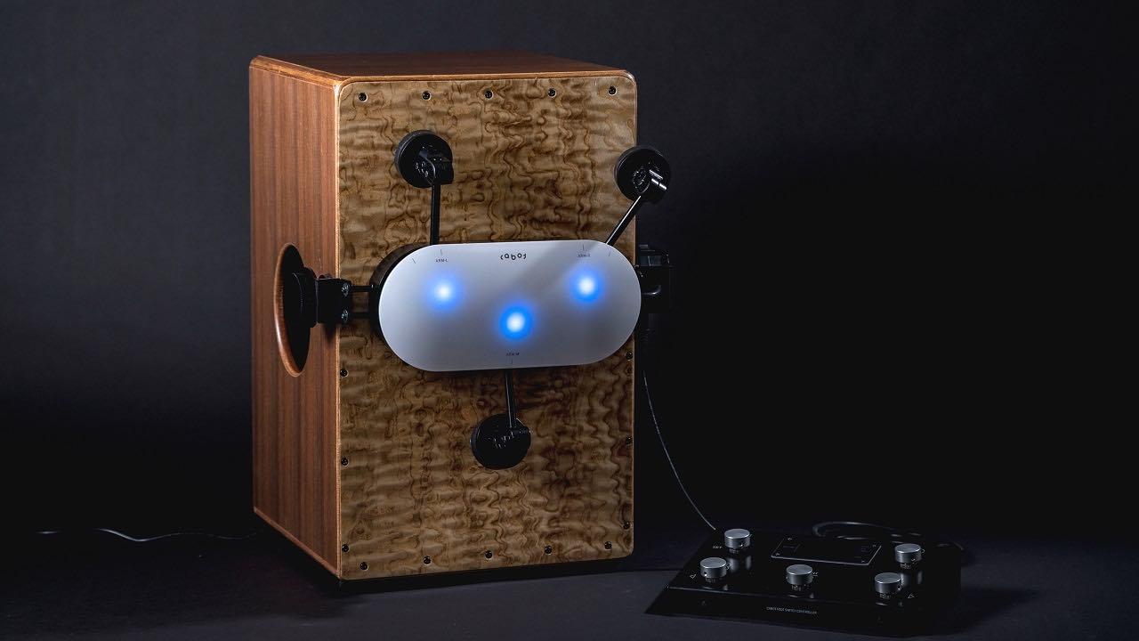 Percussion Robot for solo musicians