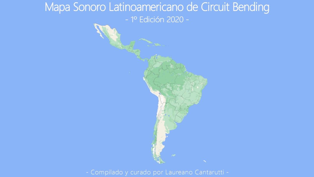 Latin American Sound Map of Circuit Bending