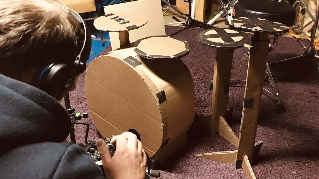 Cardboard drum