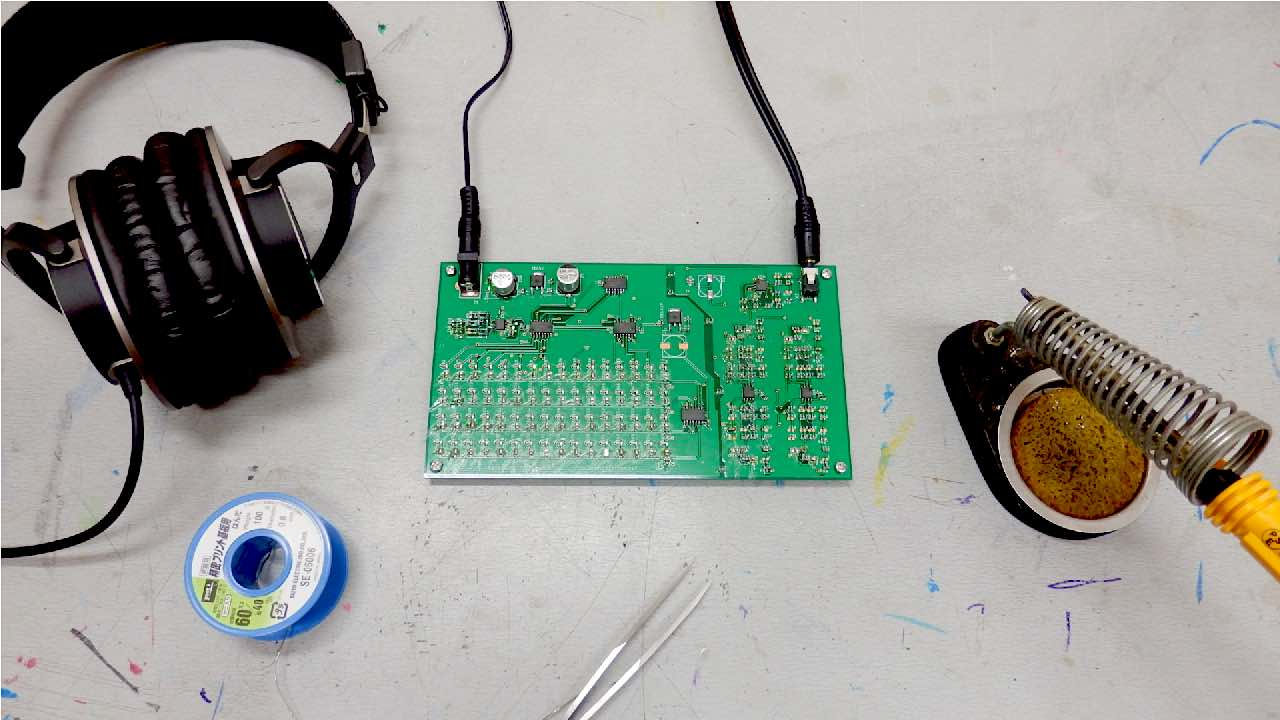 Soldering Synthesizer