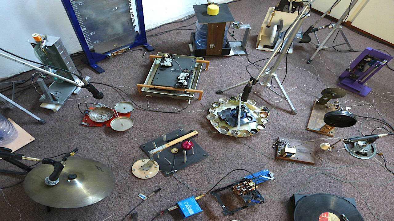 Sound Object Installation
