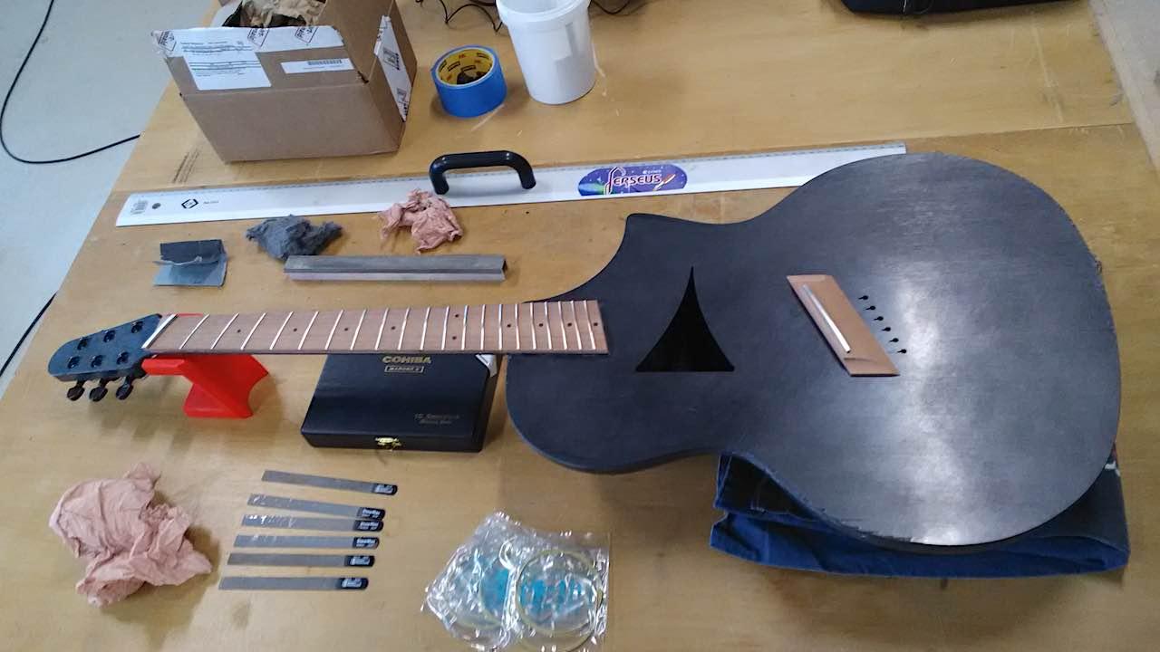 Ergonomic Carbon Guitar Module