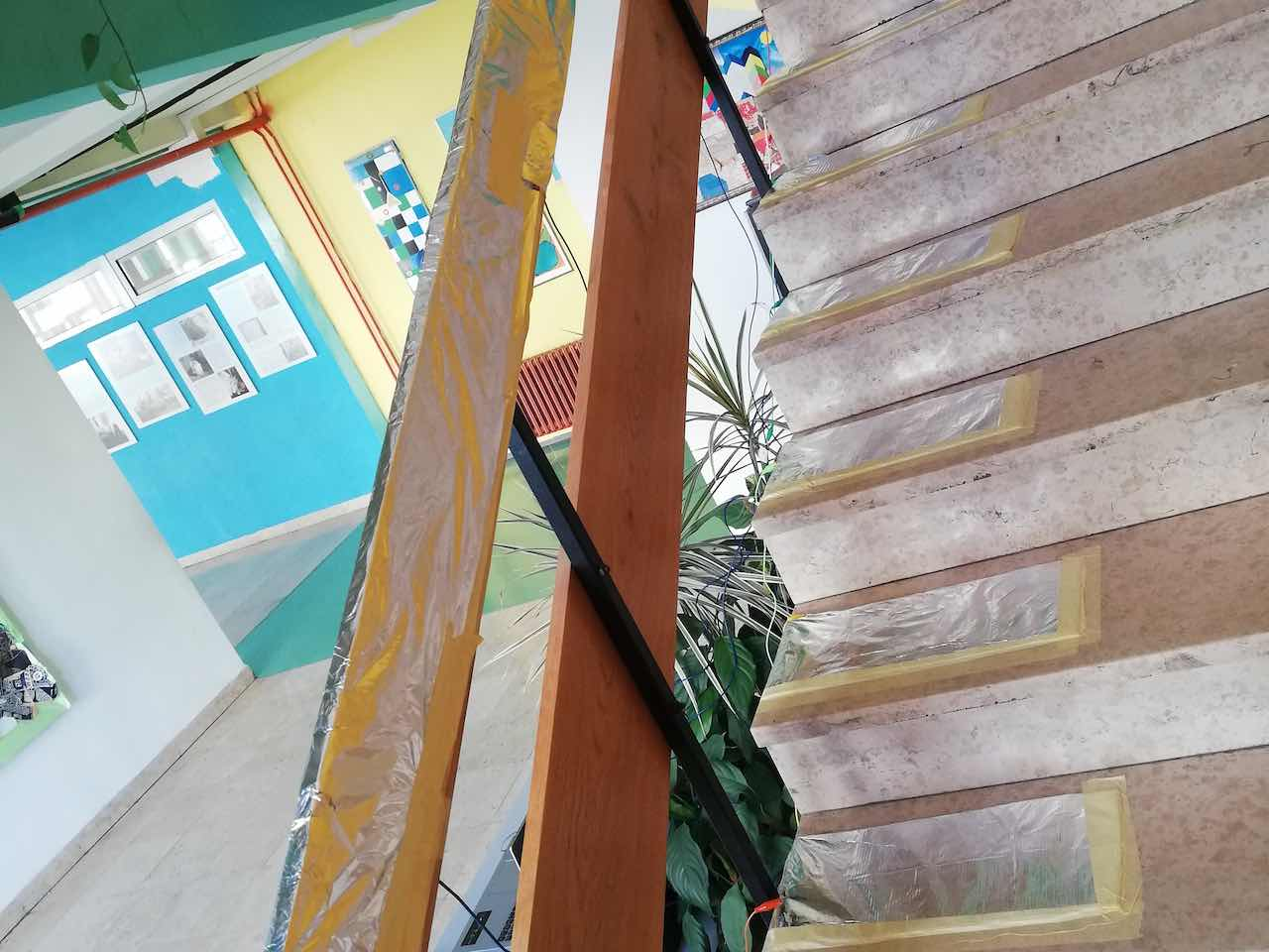 Our Instruments and School Stairs Create Magical Sounds