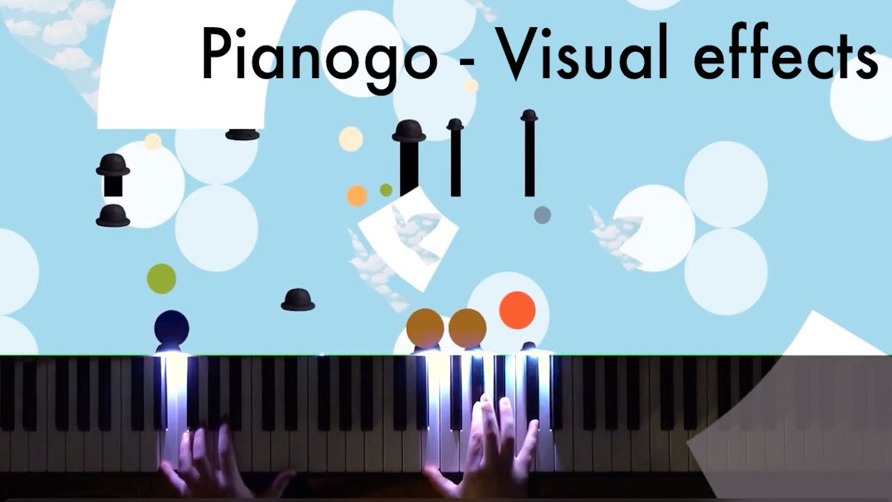 Piano with Visual effects