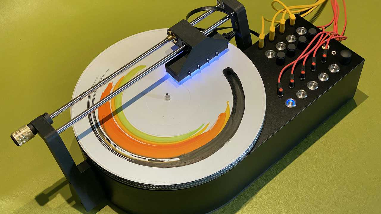 A graphic to audio music instrument